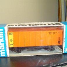 Trenes Escala: MARKLIN H0. VAGÓN PUBLICITARIO CMB . Lote 47779752
