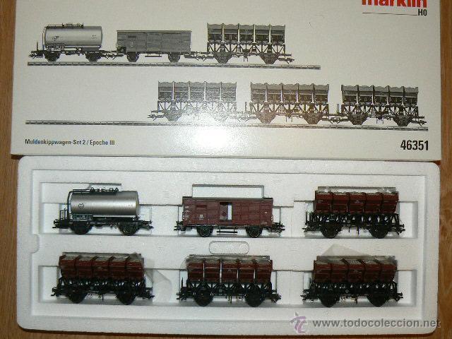 TRANSPORTE DE MINERAL 2 (Juguetes - Trenes a Escala - Marklin H0)