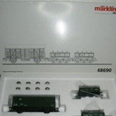 Comboios Escala: VAGONES CONTRASTE DE BÁSCULAS. Lote 49166886