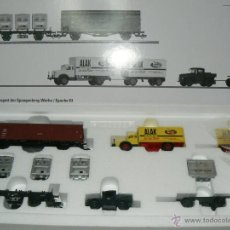Trenes Escala: TRANSPORTE DE MERCANCÍA PESADA. Lote 49167115