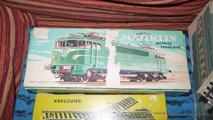 Trenes Escala: FANTASTICO LOTE DE MARKLIN HO, COMPLETO,UN LUJAZO,INCLUYE LOCOMOTORA ELECTRICA REF 3038,VER FOTOS. - Foto 2 - 49168459