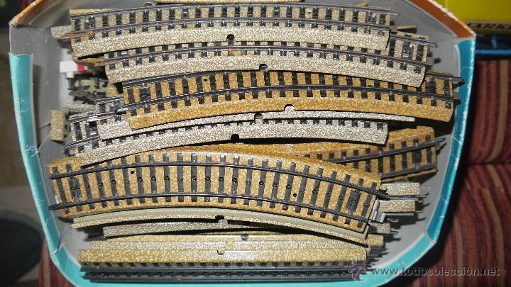 Trenes Escala: FANTASTICO LOTE DE MARKLIN HO, COMPLETO,UN LUJAZO,INCLUYE LOCOMOTORA ELECTRICA REF 3038,VER FOTOS. - Foto 4 - 49168459