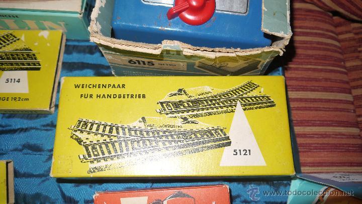 Trenes Escala: FANTASTICO LOTE DE MARKLIN HO, COMPLETO,UN LUJAZO,INCLUYE LOCOMOTORA ELECTRICA REF 3038,VER FOTOS. - Foto 9 - 49168459
