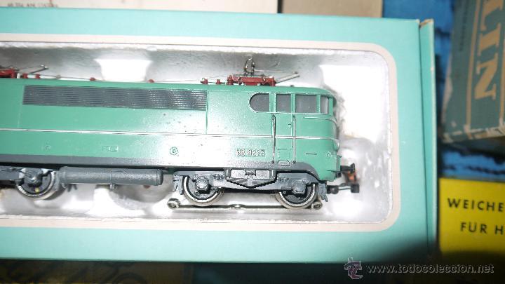 Trenes Escala: FANTASTICO LOTE DE MARKLIN HO, COMPLETO,UN LUJAZO,INCLUYE LOCOMOTORA ELECTRICA REF 3038,VER FOTOS. - Foto 14 - 49168459