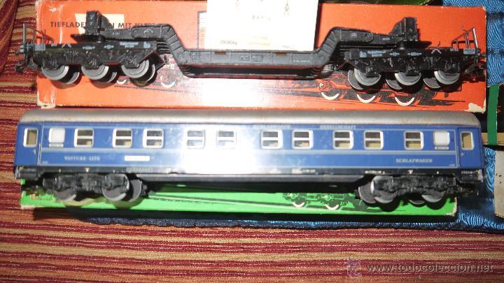 Trenes Escala: FANTASTICO LOTE DE MARKLIN HO, COMPLETO,UN LUJAZO,INCLUYE LOCOMOTORA ELECTRICA REF 3038,VER FOTOS. - Foto 17 - 49168459