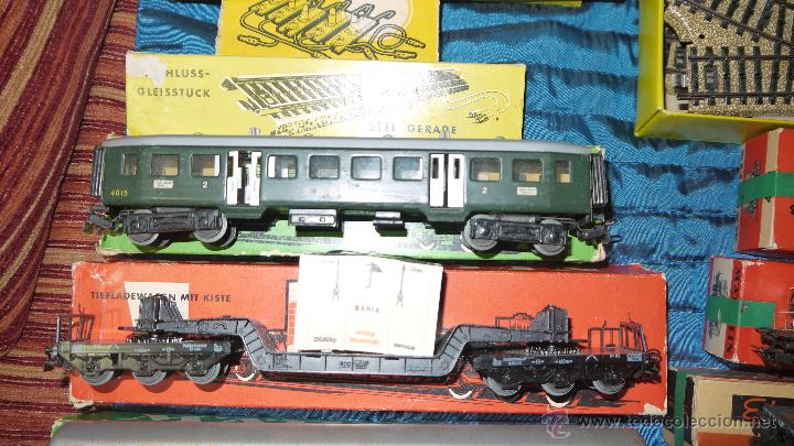Trenes Escala: FANTASTICO LOTE DE MARKLIN HO, COMPLETO,UN LUJAZO,INCLUYE LOCOMOTORA ELECTRICA REF 3038,VER FOTOS. - Foto 18 - 49168459