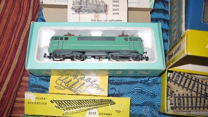 Trenes Escala: FANTASTICO LOTE DE MARKLIN HO, COMPLETO,UN LUJAZO,INCLUYE LOCOMOTORA ELECTRICA REF 3038,VER FOTOS. - Foto 19 - 49168459