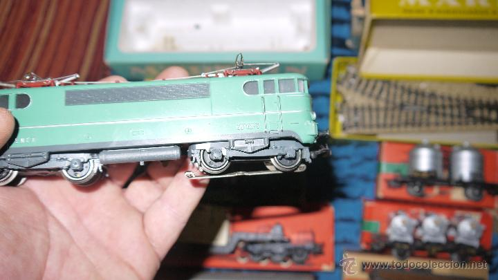Trenes Escala: FANTASTICO LOTE DE MARKLIN HO, COMPLETO,UN LUJAZO,INCLUYE LOCOMOTORA ELECTRICA REF 3038,VER FOTOS. - Foto 25 - 49168459