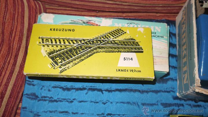 Trenes Escala: FANTASTICO LOTE DE MARKLIN HO, COMPLETO,UN LUJAZO,INCLUYE LOCOMOTORA ELECTRICA REF 3038,VER FOTOS. - Foto 26 - 49168459