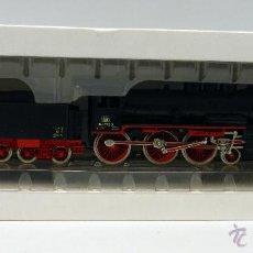 Trenes Escala: LOCOMOTORA VAPOR CON TENDER MARKLIN REF 3099 CON INSTRUCCIONES Y CAJA FUNCIONA. Lote 49749767
