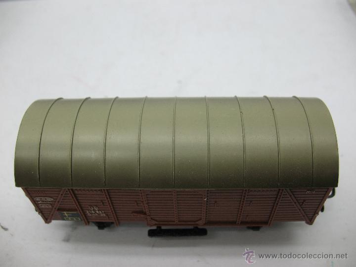 Trenes Escala: Marklin Ref: 4505 - Vagón de mercancías cerrado de la DB 248 847 para corriente alterna - Escala H0 - Foto 2 - 50151092