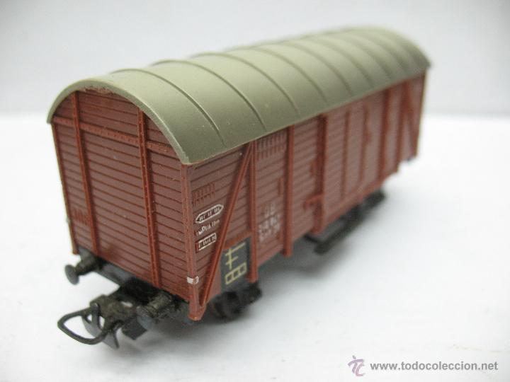 Trenes Escala: Marklin Ref: 4505 - Vagón de mercancías cerrado de la DB 248 847 para corriente alterna - Escala H0 - Foto 3 - 50151092