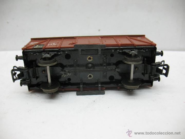 Trenes Escala: Marklin Ref: 4505 - Vagón de mercancías cerrado de la DB 248 847 para corriente alterna - Escala H0 - Foto 4 - 50151092