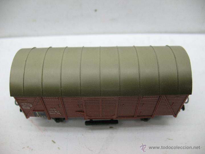 Trenes Escala: Marklin Ref: 4505 - Vagón de mercancías cerrado de la DB 248 847 para corriente alterna - Escala H0 - Foto 2 - 50151103