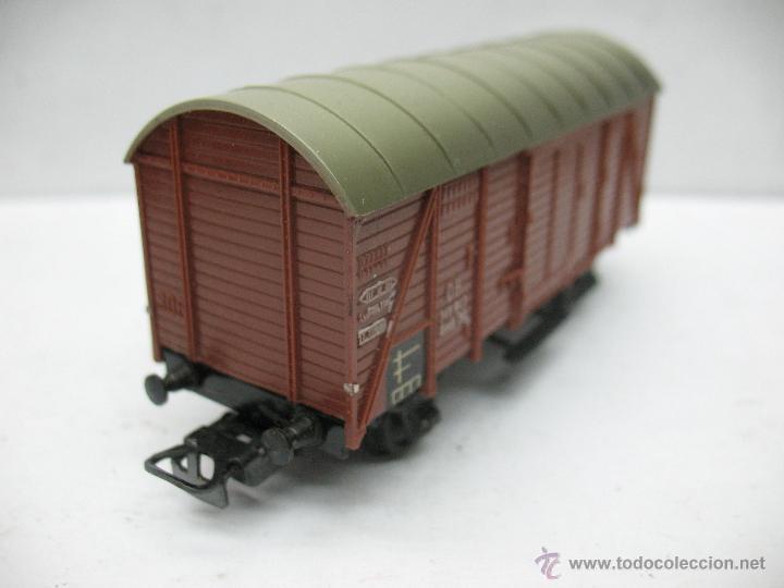Trenes Escala: Marklin Ref: 4505 - Vagón de mercancías cerrado de la DB 248 847 para corriente alterna - Escala H0 - Foto 4 - 50151103
