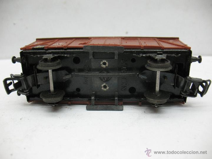 Trenes Escala: Marklin Ref: 4505 - Vagón de mercancías cerrado de la DB 248 847 para corriente alterna - Escala H0 - Foto 5 - 50151103