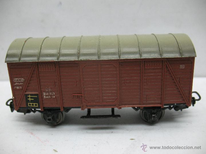 MARKLIN REF: 4505 - VAGÓN DE MERCANCÍAS CERRADO DE LA DB 248 847 PARA CORRIENTE ALTERNA - ESCALA H0 (Juguetes - Trenes a Escala - Marklin H0)