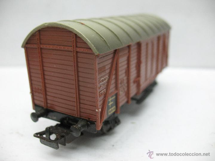 Trenes Escala: Marklin Ref: 4505 - Vagón de mercancías cerrado de la DB 248 847 para corriente alterna - Escala H0 - Foto 3 - 50151112