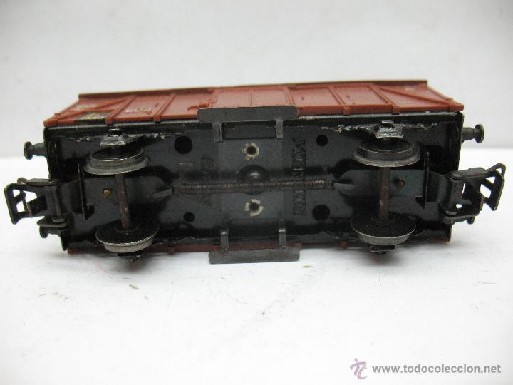 Trenes Escala: Marklin Ref: 4505 - Vagón de mercancías cerrado de la DB 248 847 para corriente alterna - Escala H0 - Foto 4 - 50151112