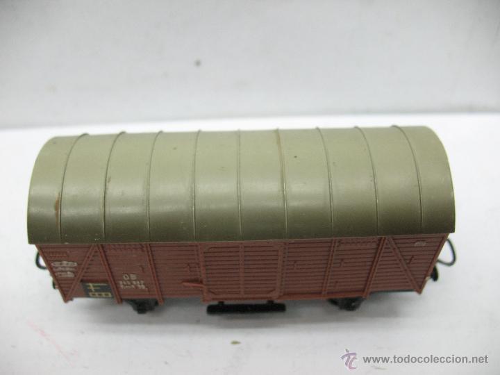 Trenes Escala: Marklin Ref: 4505 - Vagón de mercancías cerrado de la DB 248 847 para corriente alterna - Escala H0 - Foto 2 - 50151120