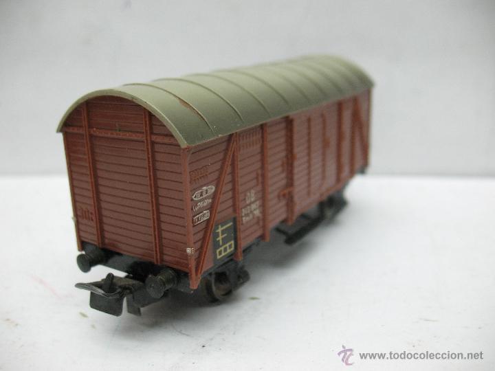 Trenes Escala: Marklin Ref: 4505 - Vagón de mercancías cerrado de la DB 248 847 para corriente alterna - Escala H0 - Foto 3 - 50151120