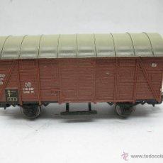 Trenes Escala: MARKLIN REF: 4505 - VAGÓN DE MERCANCÍAS CERRADO DE LA DB 248 847 PARA CORRIENTE ALTERNA - ESCALA H0. Lote 50151129