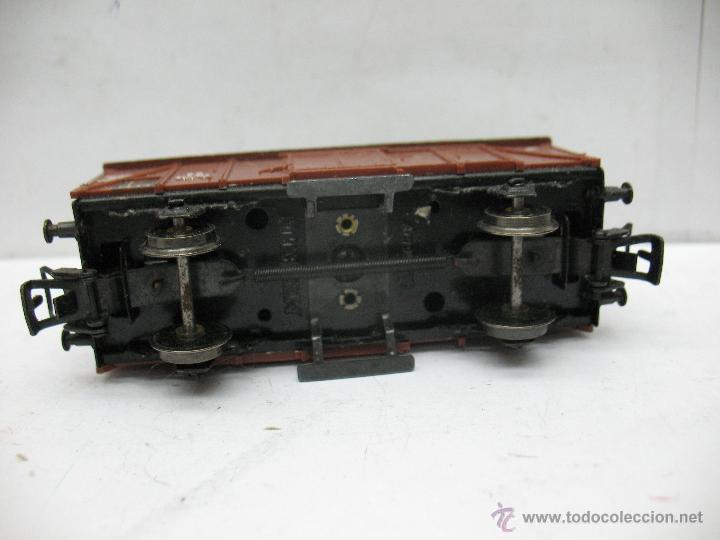 Trenes Escala: Marklin Ref: 4505 - Vagón de mercancías cerrado de la DB 248 847 para corriente alterna - Escala H0 - Foto 4 - 50151129