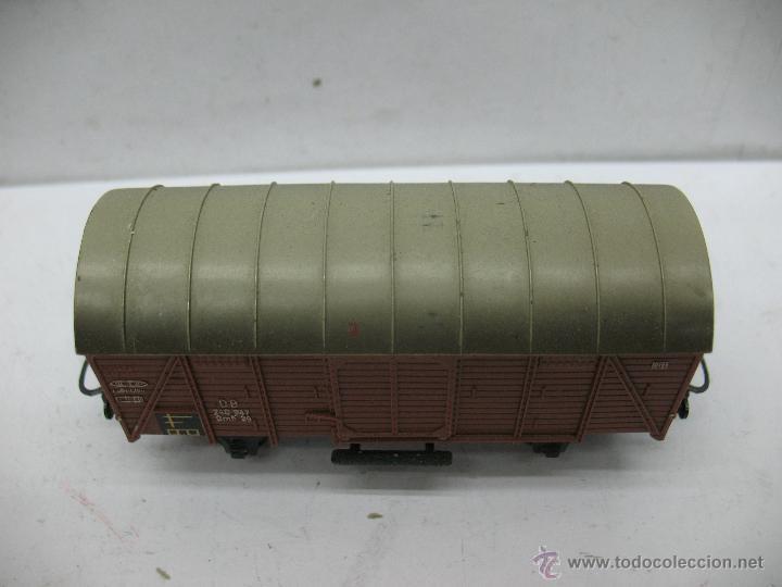 Trenes Escala: Marklin Ref: 4505 - Vagón de mercancías cerrado de la DB 248 847 para corriente alterna - Escala H0 - Foto 2 - 50151139