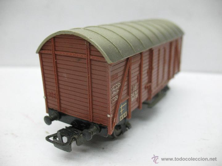 Trenes Escala: Marklin Ref: 4505 - Vagón de mercancías cerrado de la DB 248 847 para corriente alterna - Escala H0 - Foto 3 - 50151139