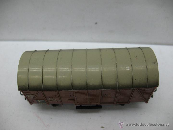 Trenes Escala: Marklin Ref: 4505 - Vagón de mercancías cerrado de la DB 248 847 para corriente alterna - Escala H0 - Foto 2 - 50151149