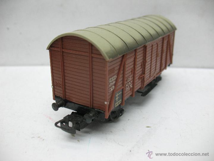 Trenes Escala: Marklin Ref: 4505 - Vagón de mercancías cerrado de la DB 248 847 para corriente alterna - Escala H0 - Foto 3 - 50151149