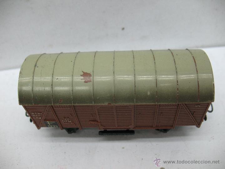 Trenes Escala: Marklin Ref: 4505 - Vagón de mercancías cerrado de la DB 248 847 para corriente alterna - Escala H0 - Foto 2 - 50151153
