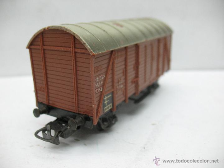 Trenes Escala: Marklin Ref: 4505 - Vagón de mercancías cerrado de la DB 248 847 para corriente alterna - Escala H0 - Foto 3 - 50151153