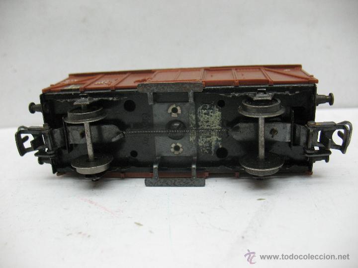 Trenes Escala: Marklin Ref: 4505 - Vagón de mercancías cerrado de la DB 248 847 para corriente alterna - Escala H0 - Foto 5 - 50151153