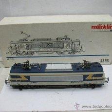 Trenes Escala: MARKLIN REF: 3333 - LOCOMOTORA ELÉCTRICA DE LA SNCF BB-20011 DE CORRIENTE ALTERNA - ESCALA H0. Lote 50201540