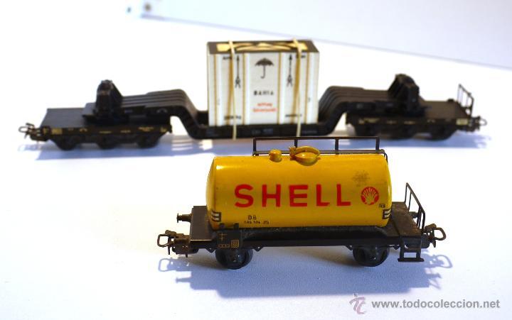 Usado, Set de vagones Marklin antiguos 4618- 4502 segunda mano