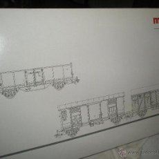 Trenes Escala: MARKLIN HO 3 VAGONES ITALIANOS NUEVOS REF:47889 EPOCA 3. Lote 50224677