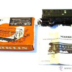 Trenes Escala: MARKLIN VAGÓN PASAJEROS REF. 4802 RARO. Lote 56146276