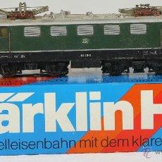 Trenes Escala: LOCOMOTORA MARCA MARKLIN H0.MODELO 3096. CAJA ORIGINAL. AÑO 1964.. Lote 52708307