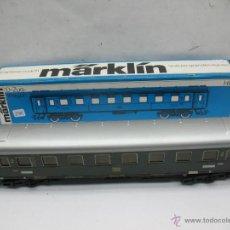 Trenes Escala: MARKLIN REF: 4037 - COCHE DE PASAJEROS DE LA DB METÁLICO 14208 - ESCALA H0. Lote 53763525