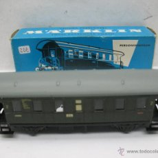 Trenes Escala: MARKLIN REF: 4002 - COCHE DE PASAJEROS METÁLICO - ESCALA H0. Lote 53781257