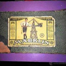 Trenes Escala: JUEGO MARKLIN DE CONSTRUCCION 1918. Lote 53833942
