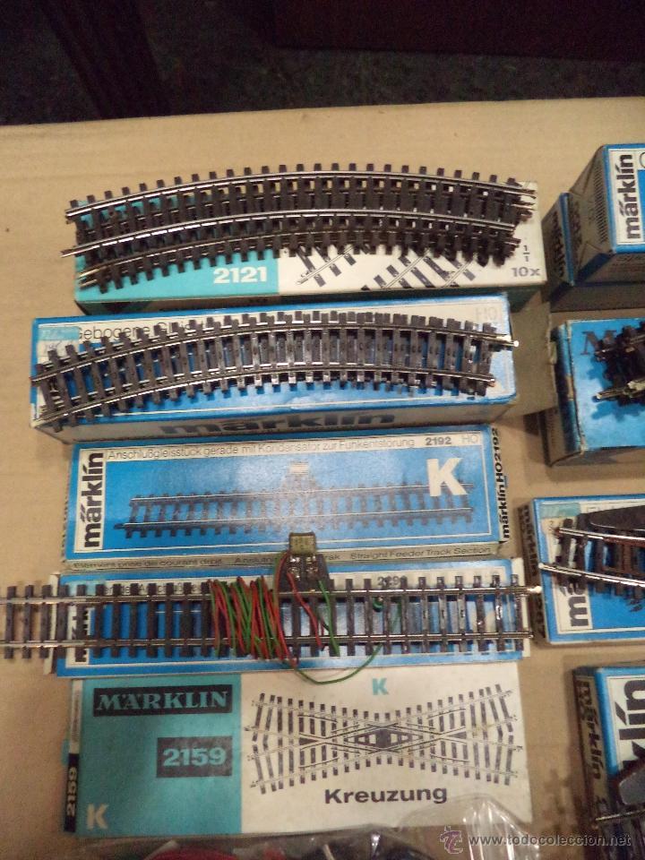 Trenes Escala: LOTE DE VIAS MARKLIN - Foto 2 - 54495772