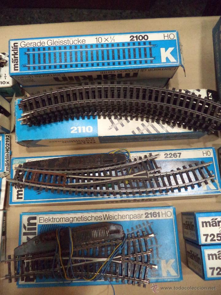 Trenes Escala: LOTE DE VIAS MARKLIN - Foto 3 - 54495772