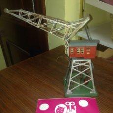 Trenes Escala: GRÚA MARCKLIN CHAPA 1965-75. Lote 54794581
