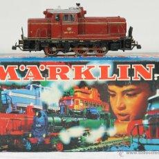 Trenes Escala: LOCOMOTORA MARCA MARKLIN. MODELO 3065. CAJA ORIGINAL. AÑOS 70.. Lote 98513299