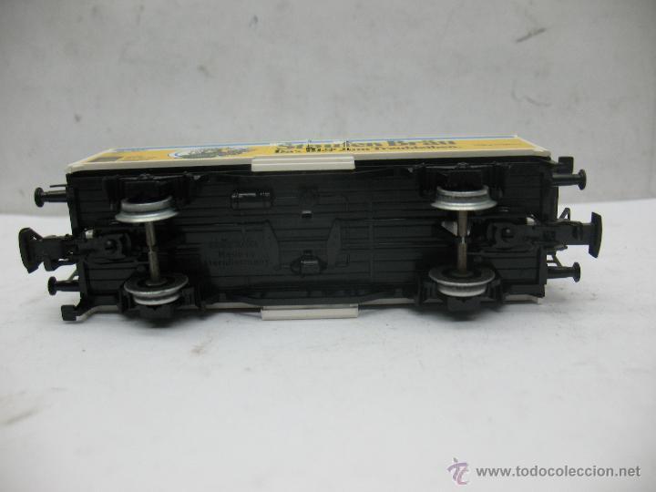 Trenes Escala: Marklin Ref: 4429 - Vagón de mercancías cerrado Staufen Bräu de la DB - Escala H0 - Foto 5 - 54905369