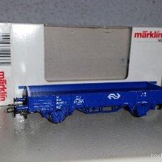 Trenes Escala: MÄRKLIN VAGON BORDES BAJOS DE LA NS REF 4433. Lote 55258569