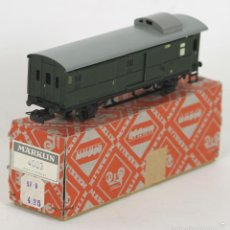 Trenes Escala: VAGON EN HOJALATA. MARKLIN. REF 4003. ESC H0. MADE IN GERMANY. CIRCA 1930.. Lote 56296237