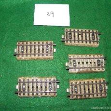 Comboios Escala: LOTE VIAS 5129 MARKLIN HO 1/87. Lote 56514101